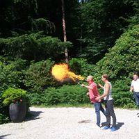 Workshop vuurspuwen: maak je eigen vuurwerk!