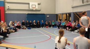 Circusworkshops voor de KNGU (Koninklijke Nederlandse Gymnastiek Unie)